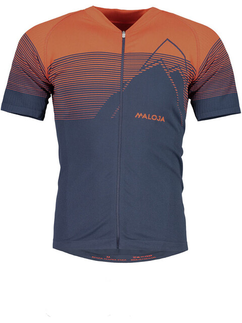 Maloja EliM. Short Sleeve Bike Jersey Men red poppy